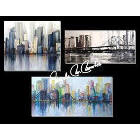 Cuadros Oleo -acrílico Catalogo 54 Ciudades Nueva York
