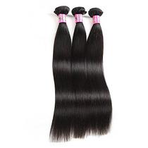 Brazilian Virgin Human Hair Extension Silky Straight, 100g/b