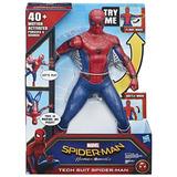 Spiderman Electronico Traje Avanzado Luz Y Sonidos Marvel