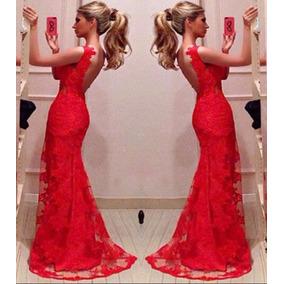 Vestidos largos rojos bogota