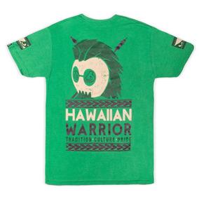Playera Bad Boy Warrior Aztek Verde