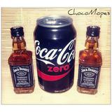 2 Jack Daniels (miniatura) + Latita Coca Cola Zero