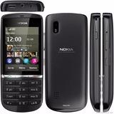 Nokia Asha 300 Com 3g Camera 5mp Tela Touch