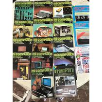 Colección Incompleta Revistas Mi Computer Años 80s Ochentas