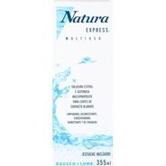 Solución Limpieza Lente De Contacto Natura Express X 355 Ml.