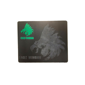 Mouse Pad Eagle Warrior Gamer Color Negro