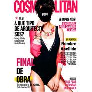 Cartel Recibida Tapa Cosmopolitan - Imprimible Personalizada