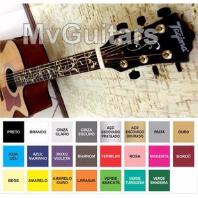 1 Adesivo Skin Floral - Violão Ou Guitarra + Envio Grátis