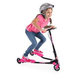 Patin Del Diablo Scooters Yvolution Yfliker A1 Air Rosa
