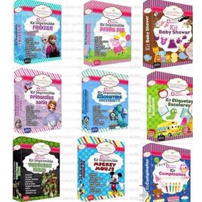 100 Kits Imprimibles Premium Completos + Envio Gratis Blanca