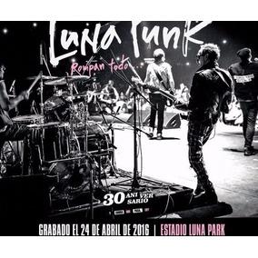 Cd Los Violadores Luna Punk Rompan Todo (2 C D + Libro)