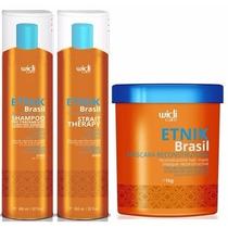 Kit Widi Care Etnik Brasil Escova Progressiva + Mascara 1kg
