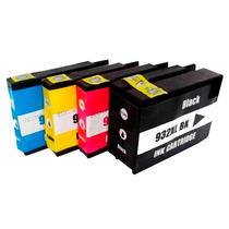 4 Cartuchos 950xl 951xl Impressora Officejet Pro 8600 Plus