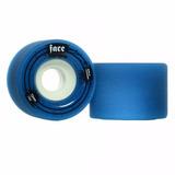 Roda Faceskate Azul 72mm 79a Freeride Longboard Skate