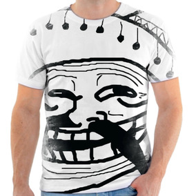 Camiseta Camisa Personalizada Meme Troll Face Mexicano