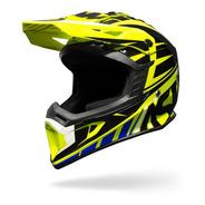Capacete Cross Asw Core 18 Menta Preto Motocross Velocross