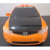 Honda Civic Siniestro Grande Escala 37cm Reparar