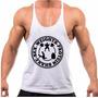 Regata Cavada Fitness Para Musculação Sex-weights-protein