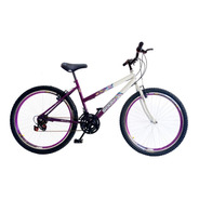 Bicicleta Feminina Aro 26 18 Marchas Com Aros Aero Vzan