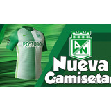 Camiseta Oficial Atlético Nacional Original Envío Gratuito