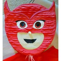 Piñata Pj Mask Heroes En Pijamas Artesanal