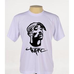 Camiseta Camisa Rapper Tupac 2pac Rap Hip Hop Manga Curta