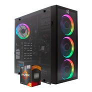Computadora Gamer Ryzen 5 16gb 240gb Sdd + 1tb Hdd Wifi