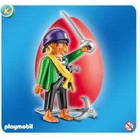 Lote 5016 - Pirata 4919 - Ovo Red - Playmobil Geobra
