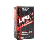 Lipo 6 Black Nutrex Quemador De Grasa 60 Caps
