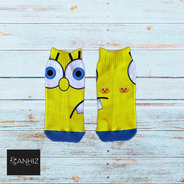Calcetines Personalizados Divertidos Bob Esponja