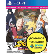 Naruto Ultimate Ninja 4 Road To Boruto 4 Ps4 Juego Sellado