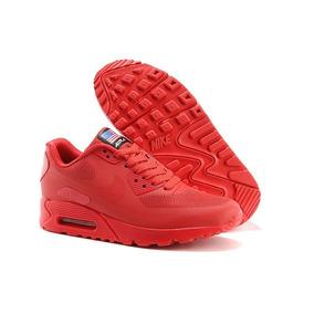 zapatos rojos nike hombre