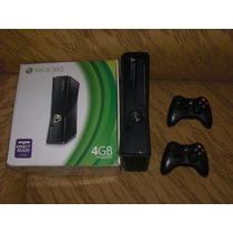Xbox 360 Destravado+20jogos+2controles+brindes+garantia