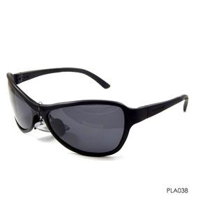 Óculos Triton Pla038 - Preto - Alumínio - 12x Sem Juros
