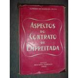 Livro - Aspectos Do Contrato De Empreitada - 1955