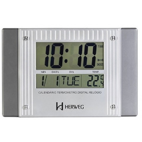 7bec201935c Relogio Parede Digital Herweg - Relógios no Mercado Livre Brasil