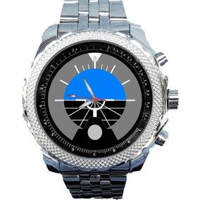 Relógio Horizonte Artificial Personalizado Caixa Breitling