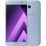 Samsung Galaxy A7 2017 Blue Me 32gb Cam 16mpx Lector Huellas