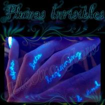 Pluma Espía Mini De Tinta Invisible Uv Glow In The Dark