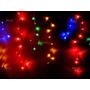Serie Navideña Cascada 200 Led Colores Adorno De Navidad