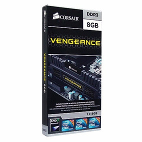 Memoria Corsair 1 X 8gb Vengeance Pc3-12800 - 1600 Mhz Ddr3