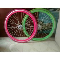 Rines R700 Bicicleta Fixie Flip Flop (piñon /r Libre) 50mm