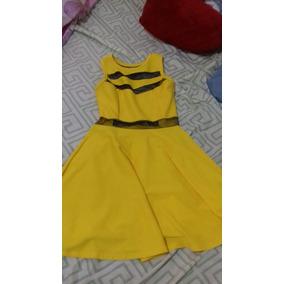 Vestido Amarelo Usado