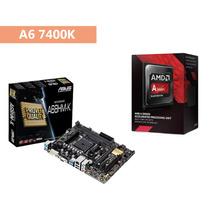 Kit Gamer Processador Amd A6 7400k + Asus A68hm-k !