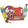 Kit Ferramentas P/ Refrigeração: Manifold , Flangeador , R22