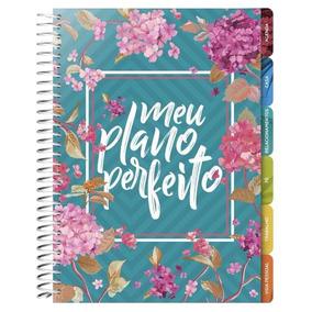 Agenda Meu Plano Perfeito - Capa Flores
