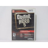 Guitar Hero 5 Wii ¡usado! En Tecno-gaming