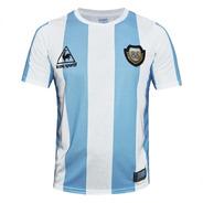 Camiseta Argentina Le Coq Mexico 86 Maradona 10 Aniversario