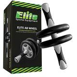 Elite Sportz Ab Roller Wheel Pro Con Ruedas Dobles Para Una