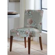 Capa Para Cadeira Jantar Malha Com Elástico Estampada